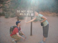 Hiking Angel's Landing at Zion National Park.