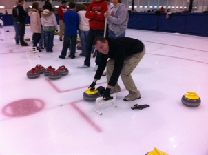 Jake is learning how to Curl!