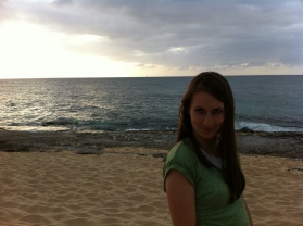 The beach in Hawaii where LOST was filmed.