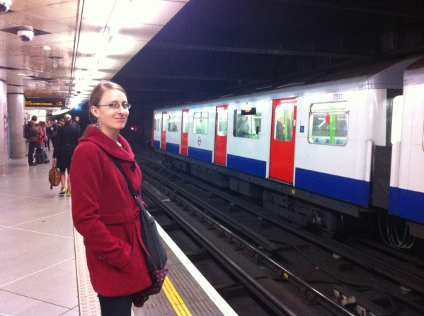 Mind the Gap! Waiting for the Tube in London