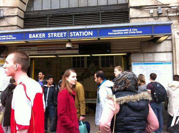 """Baker Street in London. Jake loves this picture because of the song """"Baker Street"""" and Sherlock Holmes."""
