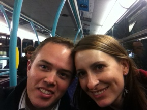 Riding the Tube in London
