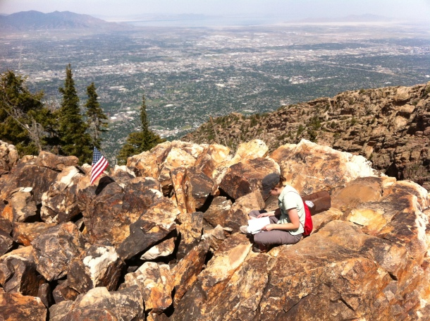 At the top of Mt. Olympus