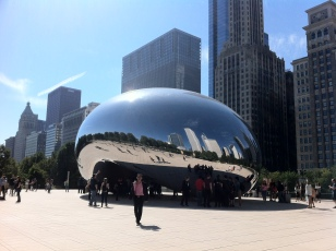 Chicago is a beautiful city. We saw the sights while we were out there for the wedding of a friend.