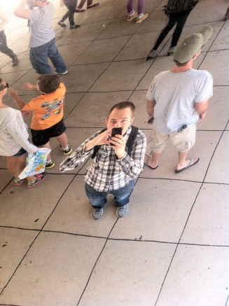 At the Bean in Chicago