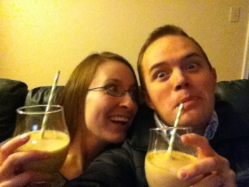 We LOVE fruit smoothies