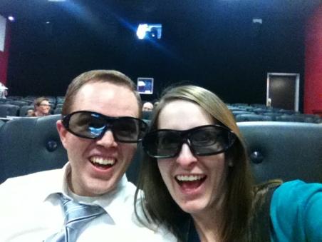 3-D movie at the aquarium? Why not?!
