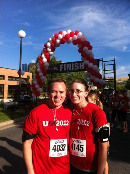 Jake loves to run, and especially loves running with Andrea. Why not run a 5K together?!