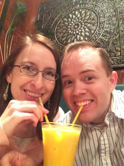 Mango lassis are the best!